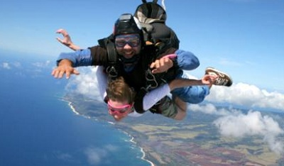 Skydiving North Shore Oahu