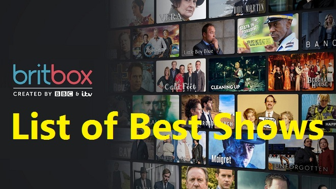 Best Shows on BritBox