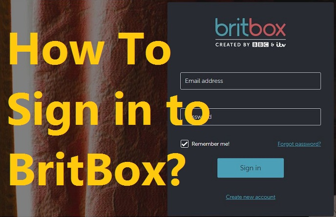 BritBox Sign In