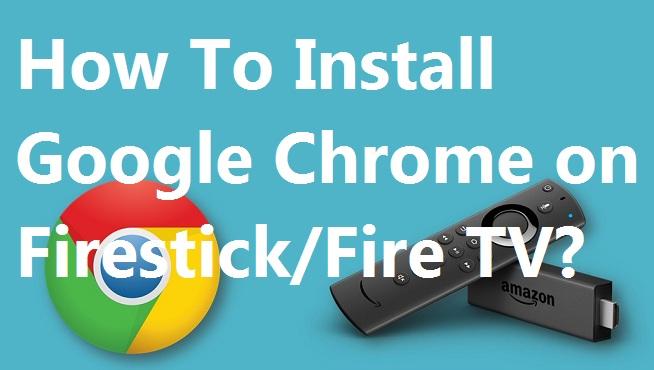Chrome Fire Tv