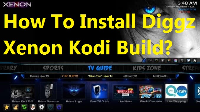 Install Xenon Kodi Build