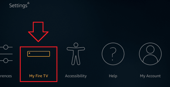My Fire TV Option