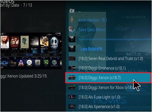 Select Diggz Xenon