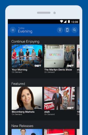 Bell Fibe TV Chromecast