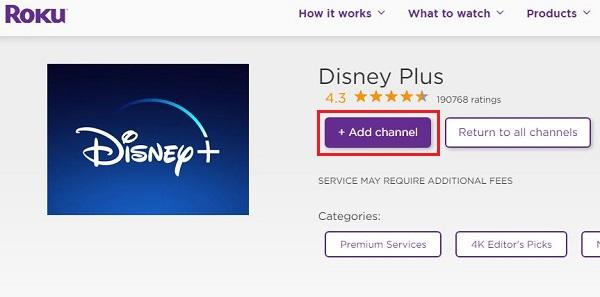 Get Disney Plus on Roku