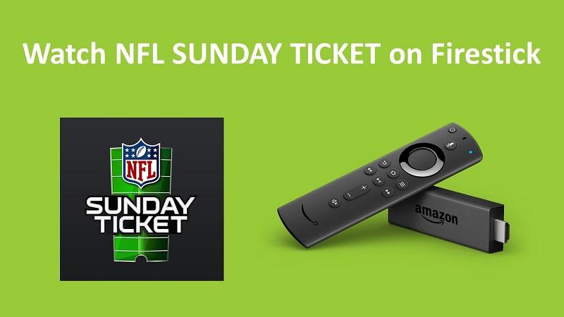 NFL SUNDAY TICKET on Firestick