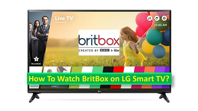 BritBox on LG Smart TV