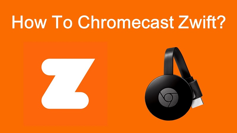 Zwift on Chromecast